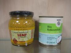 Senf - Kokosmilch