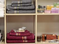 Handtücher, Badetücher, Seifen